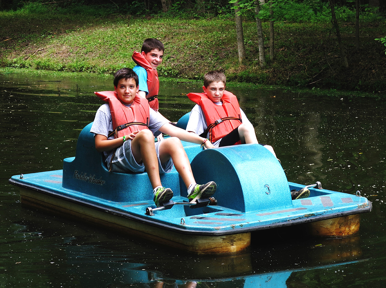 Paddle-Boating-boys-