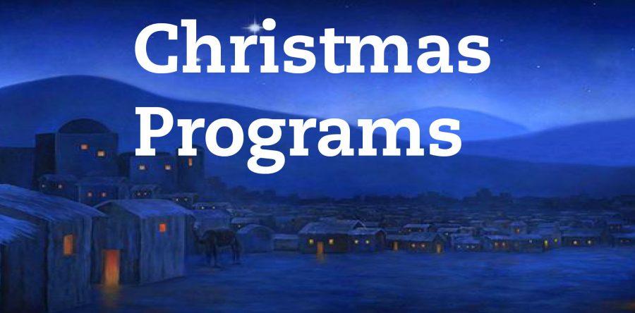 Family Christmas Program