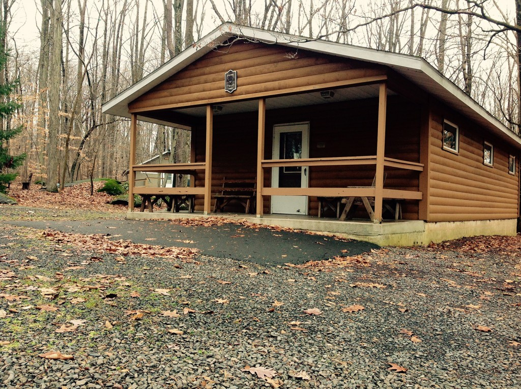 cabin outside